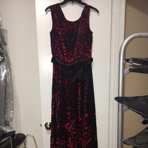 Tahari formal gown